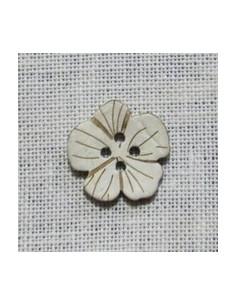 Bouton Coco - Fleur 20 mm