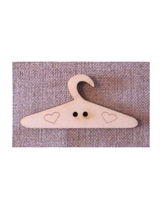 Bouton bois - Cintre petit