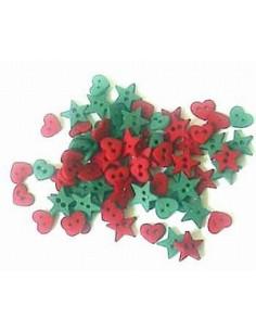 Lot de boutons Dress It Up - Christmas Garland