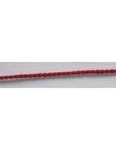 Cordelette rouge - 1.5 mm de large