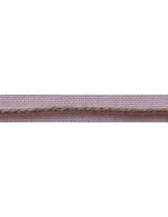 Cordon tresse lin nature 2mm, col45