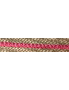 Corde de lin bordeaux Fb.48