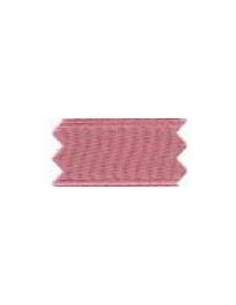 Ruban Satin double face - largeur 6 mm - vieux rose