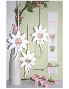 Passe-partouts - Fleur blanche