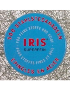 Boite à Epingles IRIS en acier
