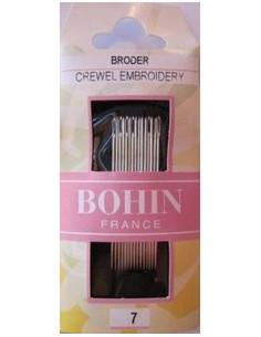 Aiguilles à broder Bohin - taille 7