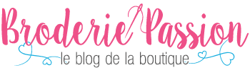 Logo Blog Broderie Passion